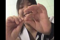 優○?!素人時代の足フェチビデオ映像